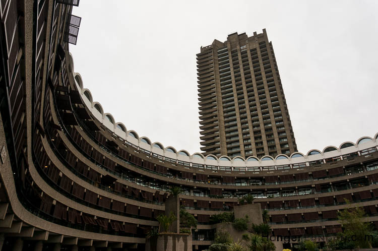 external structure of the Barbican complex