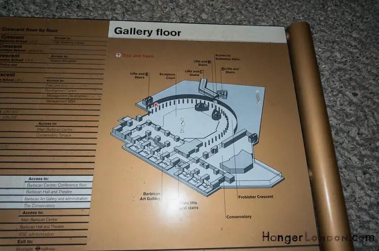 map diagram Gallery floor