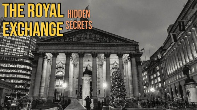 The Royal Exchange, the incredible history from LIFFE Trading floor to Boutique luxury 8
