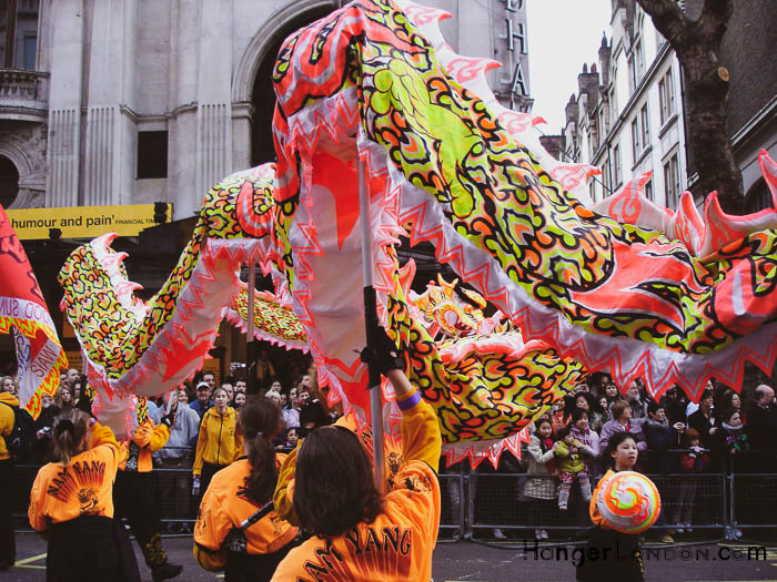Dragon in Action London chinese New Year