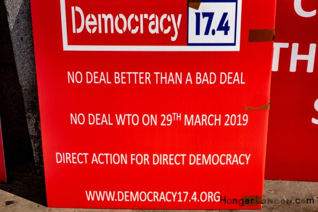 Democracy Died poster Brexit