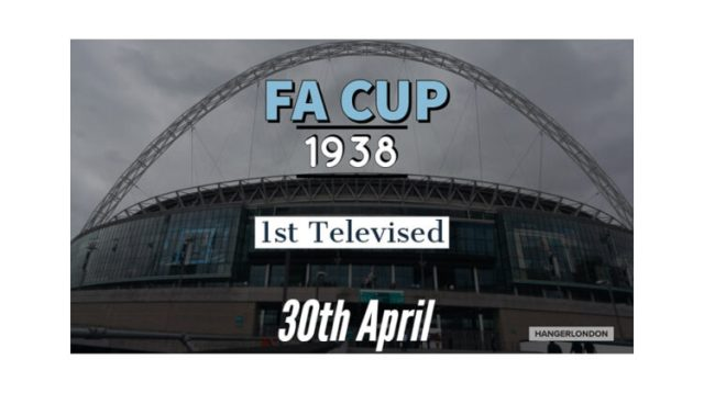 on this day 30th April 1938 the 1st televised FA cup