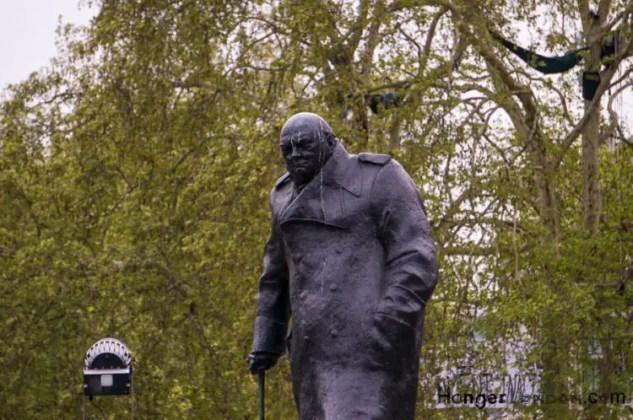 Parliament Square Churchill statue
