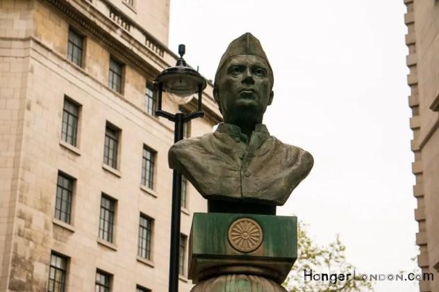 Bust of Jawaharlal Nehru