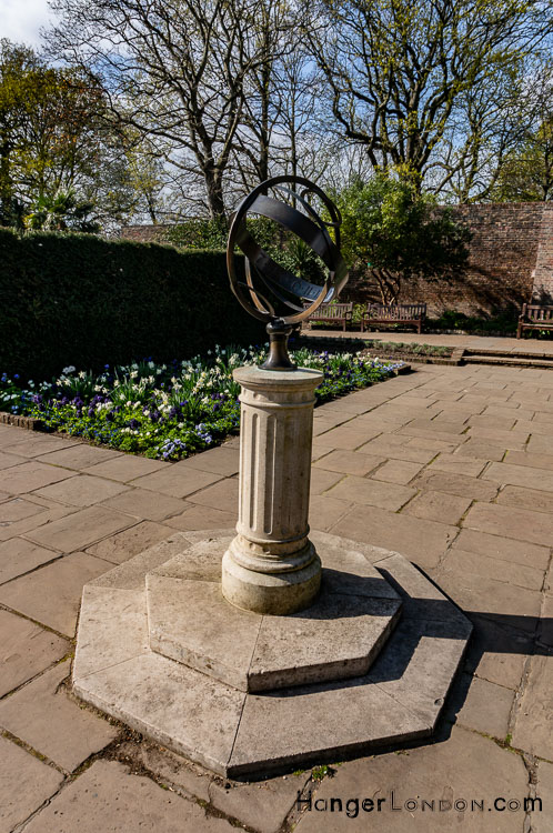 Oliver Gero Sundial Sphere in Holland Park