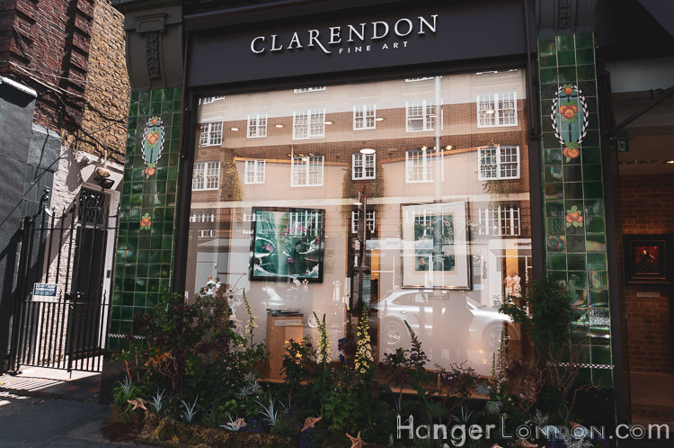 Fine art Clarendon Chelsea shop front
