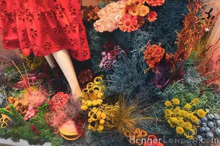 sea bed theme KL Bennett shop window