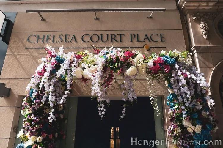Chelsea Court in bloom