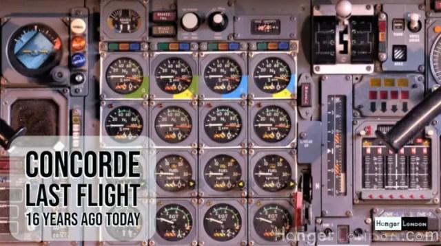 Concorde Last Flight