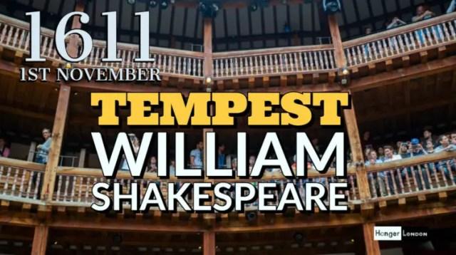 william shakespear tempest
