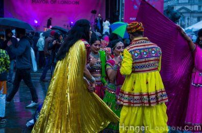 Diwali2019 London amazing costumes