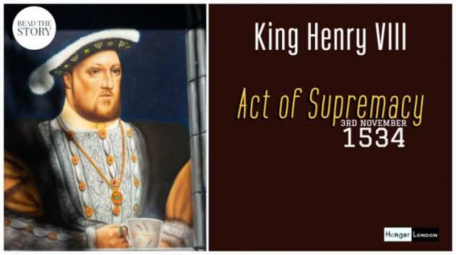 King Henry VIII Supremacy Act