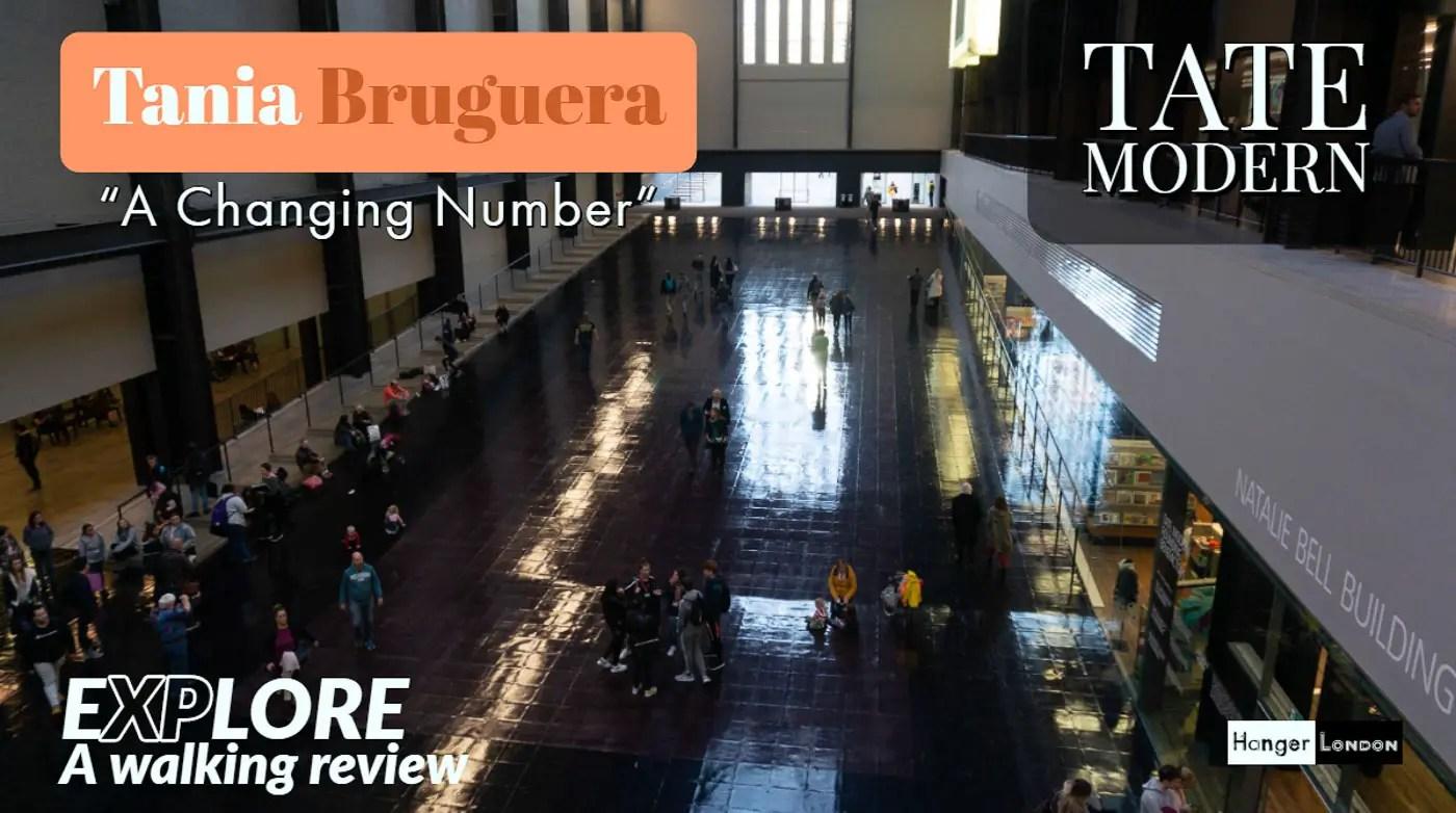 Artist Bruguera Tate Modern
