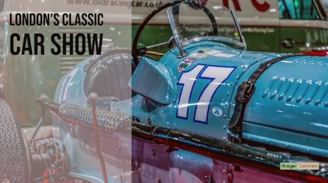 Londons Classic car show