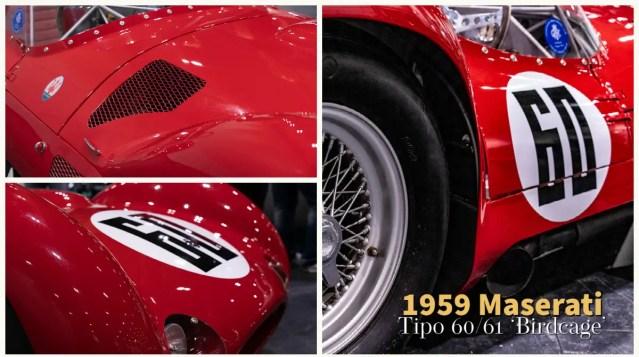 maserati tipo classic sports car