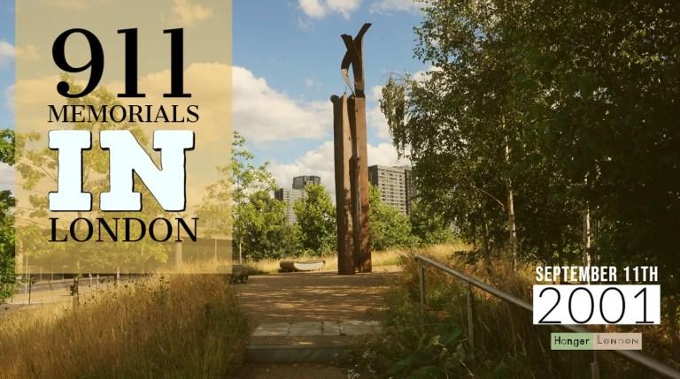 911 memorials in london