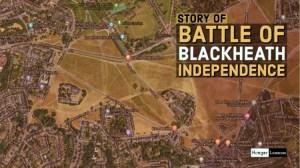 Battle of Blackheath for cornish independence