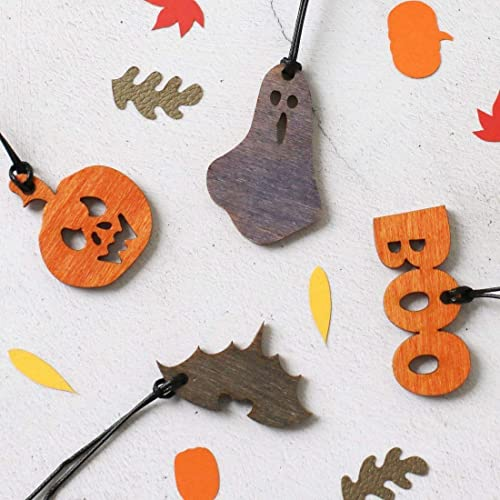 Halloween Decorations - Wooden decorations - Halloween party - Halloween party favours - Trick or Treat - Halloween Gifts 1