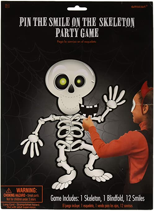 Amscan International ltd 394842 Skeleton Party Game Accessory-14 Pcs, Multi-Colored 1
