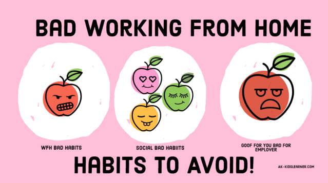 28 bad habits wfh