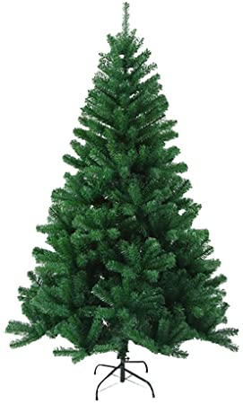 6ft Christmas Tree 700 Tips Artificial Tree with Metal Stand 1
