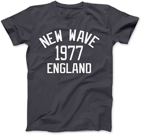 Bees Knees Tees New Wave Music 1977 T-Shirt 1