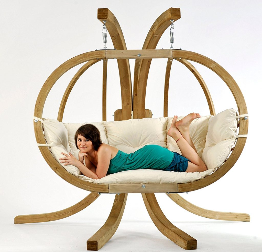 Review Hanging Loveseat Swing With Stand Hanging Chairs