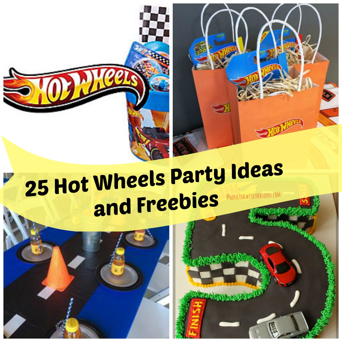 25 Hot Wheels Party Ideas and Freebies