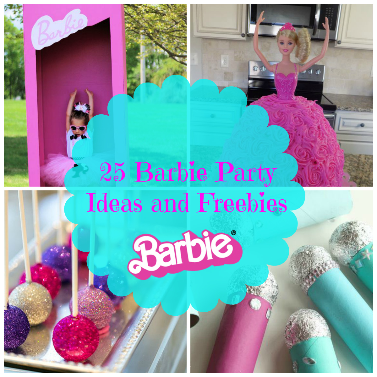 25 Barbie Party Ideas and Freebies