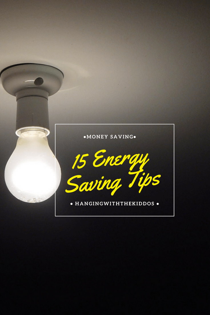 15 Energy saving tips