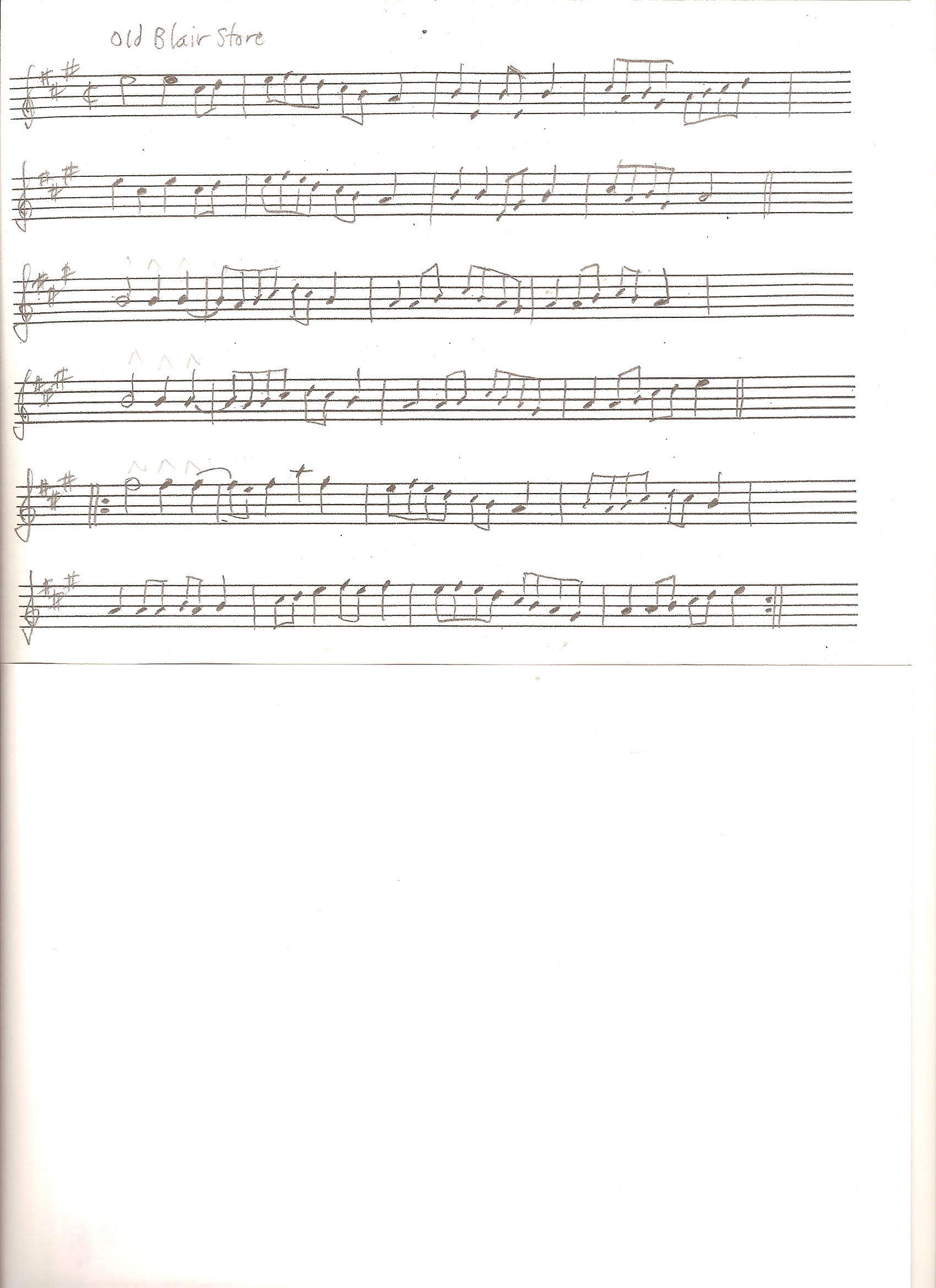Violin Sheet Music Wagon Wheel Old Crow Medicine Show