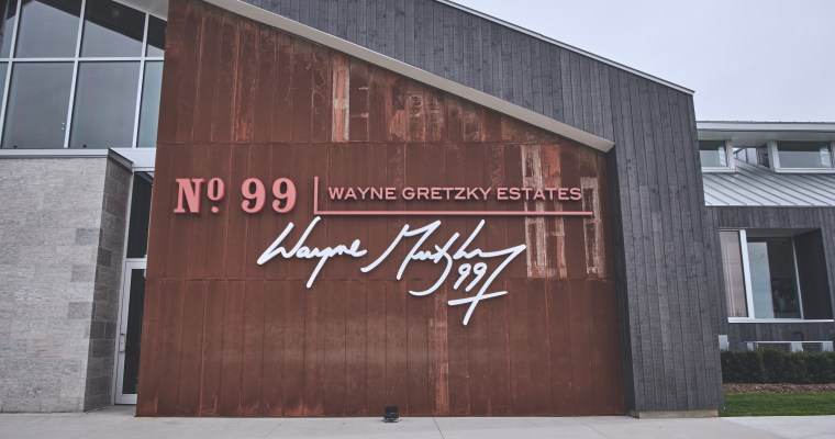 The Wayne Gretzky Winery and Distillery