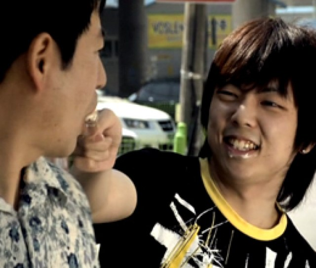 When We Are First Introduced To The Character Of Sang Woo He Is About To Carry A Disabled Man On His Back To Have Sex With His Mother And He Initially