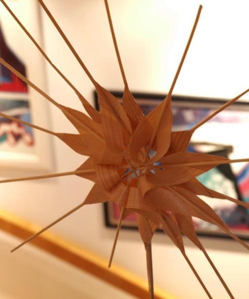 Stern für die Christbaumspitze