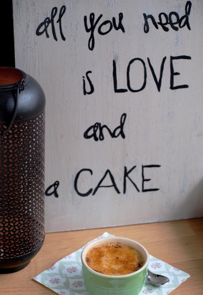 All you need is love and a cake