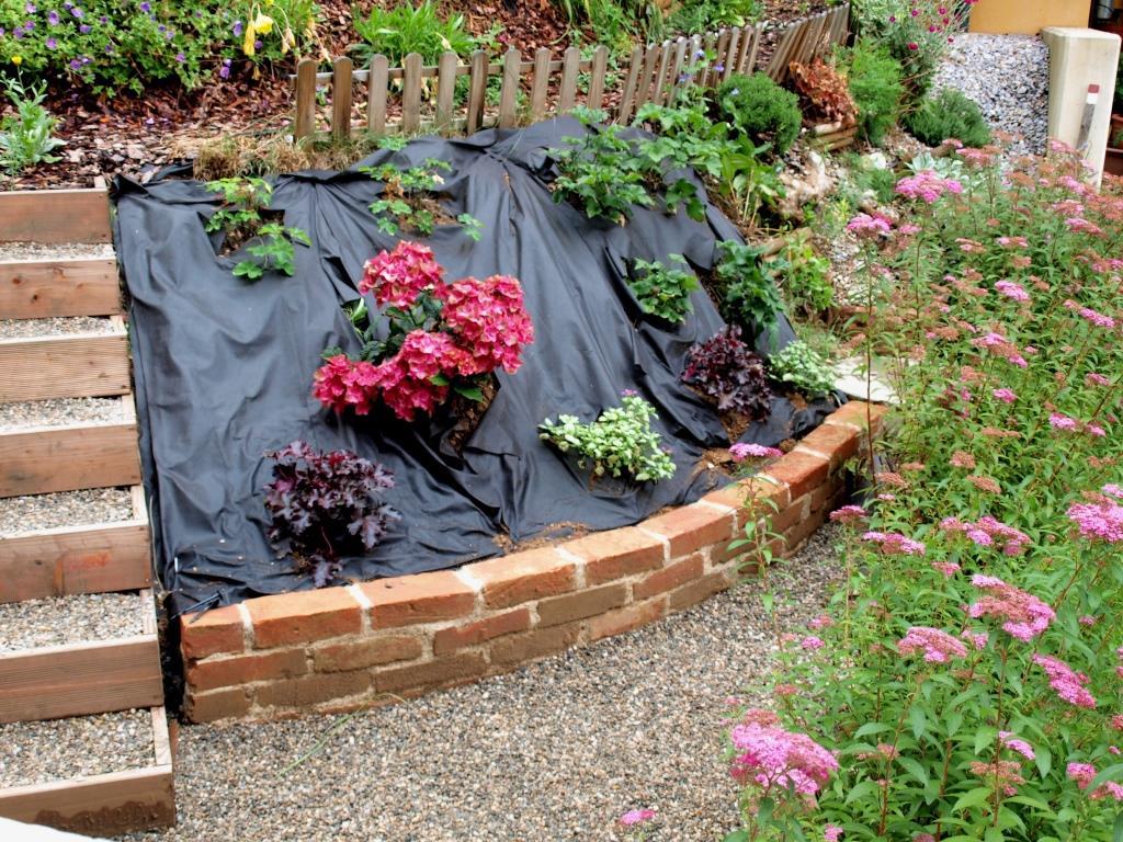 Garten-Umgestaltung fertig gestellt