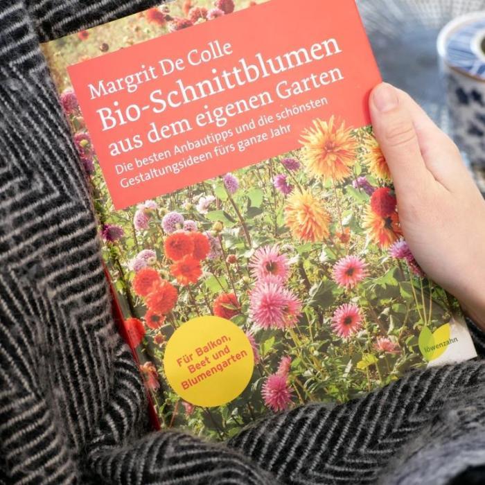 Buchvorstellung: Bio-Schnittblumen aus dem eigenen Garten von Margrit de Colle