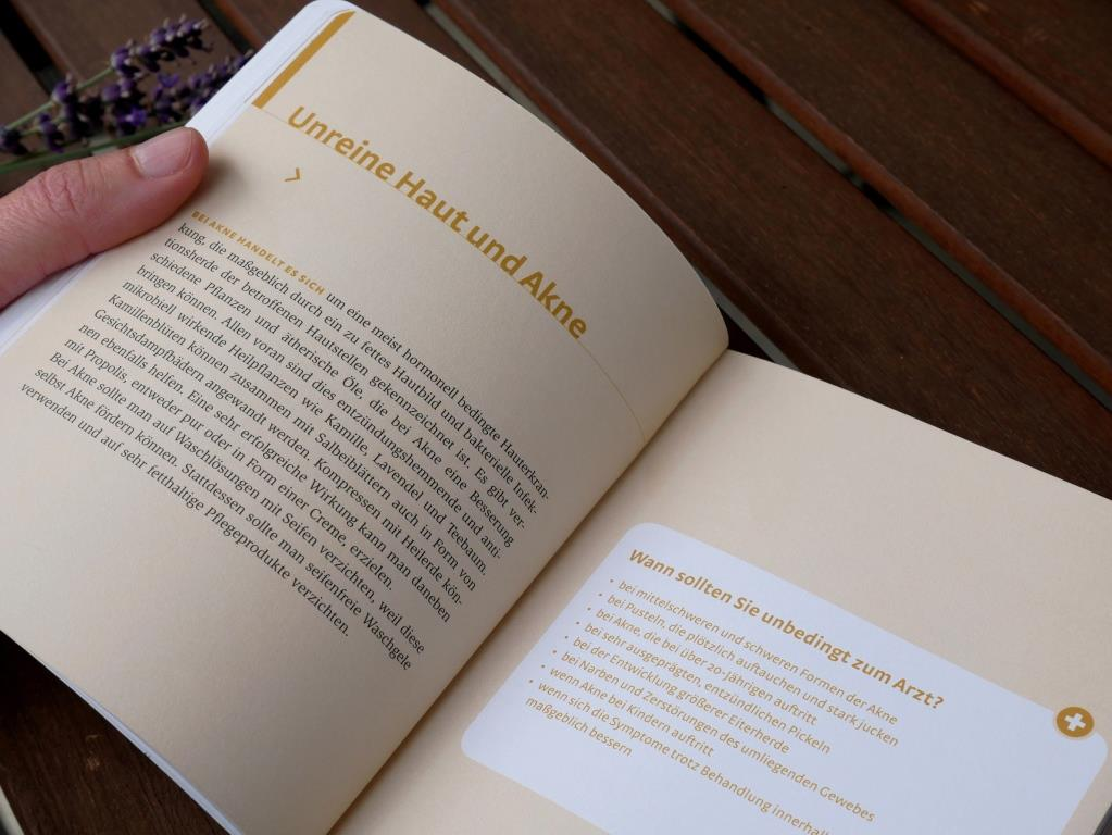 Kapitelübersicht im Buch Haut und Haare