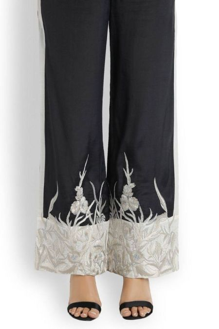 Embroidered Trouser TR-S19450304