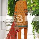 Summer Embroidered Lawn Collection Vol-1 EMB-1395 1