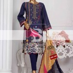 Summer Embroidered Lawn Collection Vol-1 EMB-1406 1