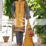 Summer Embroidered Lawn Collection Vol-1 EMB-1407 1
