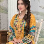 Summer Medley Lawn Printed And Embroidered Collection D-1473 B 1