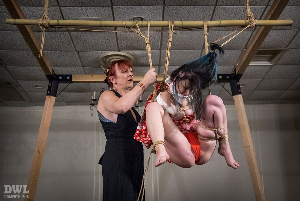 Kinbaku Performance In Baltimore Md October 7th 2016