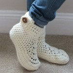 Winter Warmer Slippers by HanJAn Crochet Hannah Cross crochet pattern