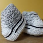 High Top Sneaker Boots by HanJan Crochet Hannah Cross crochet pattern