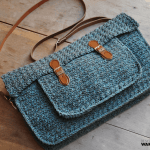 The Quotidian Satchel by HanJan Crochet Hannah Cross crochet pattern