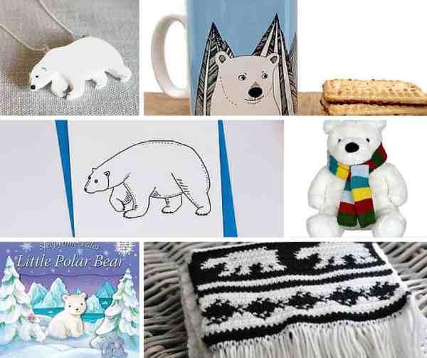 polar bear gift ideas for Christmas