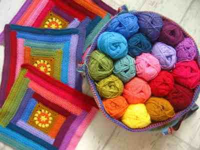 Attic24 Lucy crochet blogger and designer blankets