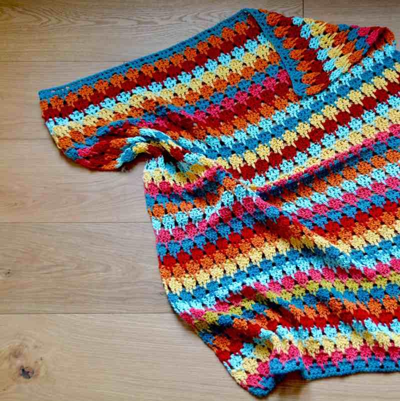 Yarn Stash Series The Larksfoot Blanket Hanjan Crochet